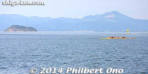 Chikubushima and Mt. Ibuki