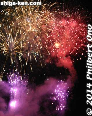 Nagahama fireworks