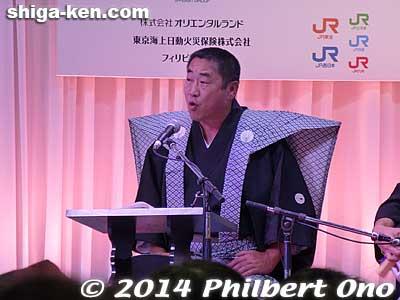 Nagahama Hikiyama singer was excellent.