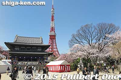 Zojoji temple in Tokyo.