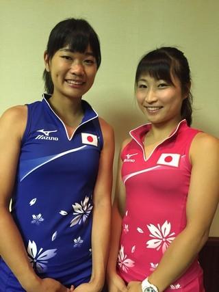 Ayaka and Minami (from Maibara's website).