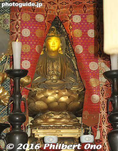Eigenji's hidden Buddha